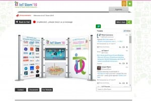IoT Slam 2015 Virtual Internet of Things Conference - IoT Slam booth