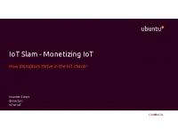 IoT Slam – Monetizing IoT, How to make money with IoT