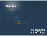 IOT PROTOCOLS FOR THE THINGS