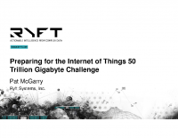 KEYNOTE – PREPARING FOR THE INTERNET OF THINGS 50 TRILLION GIGABYTE CHALLENGE