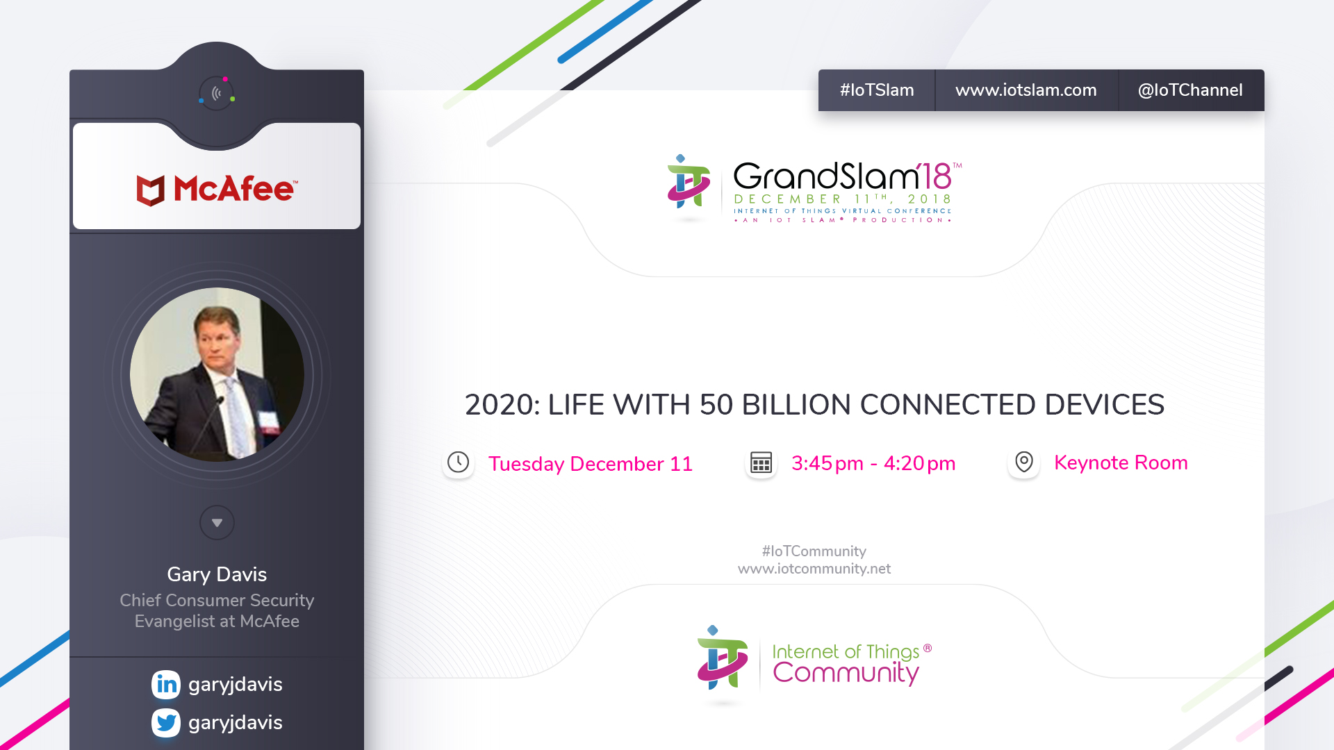 2020: Life with 50 Billion Connected Devices   IoT Slam®