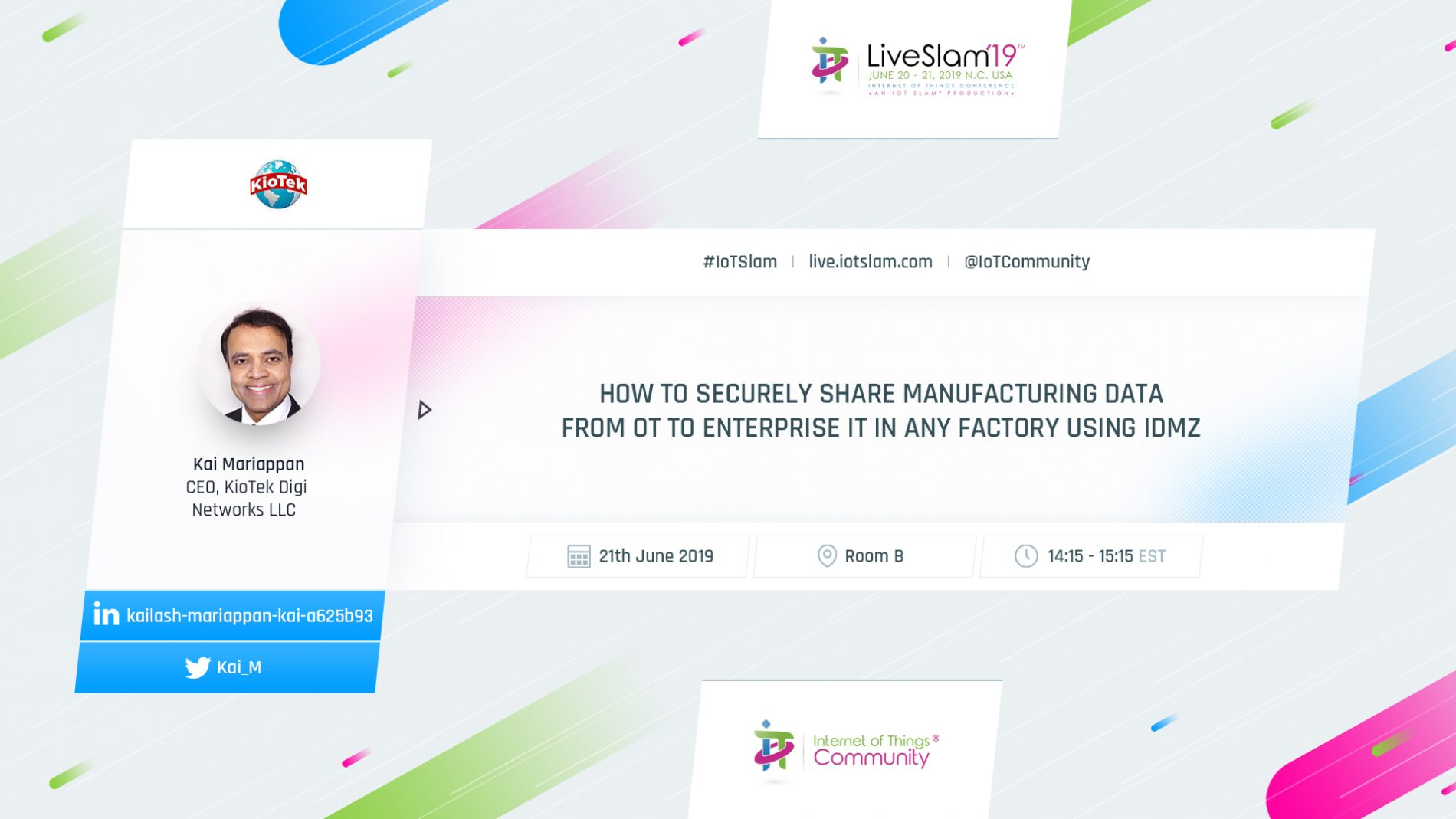 How to securely share manufacturing data from OT to enterprise IT in any factory using IDMZ