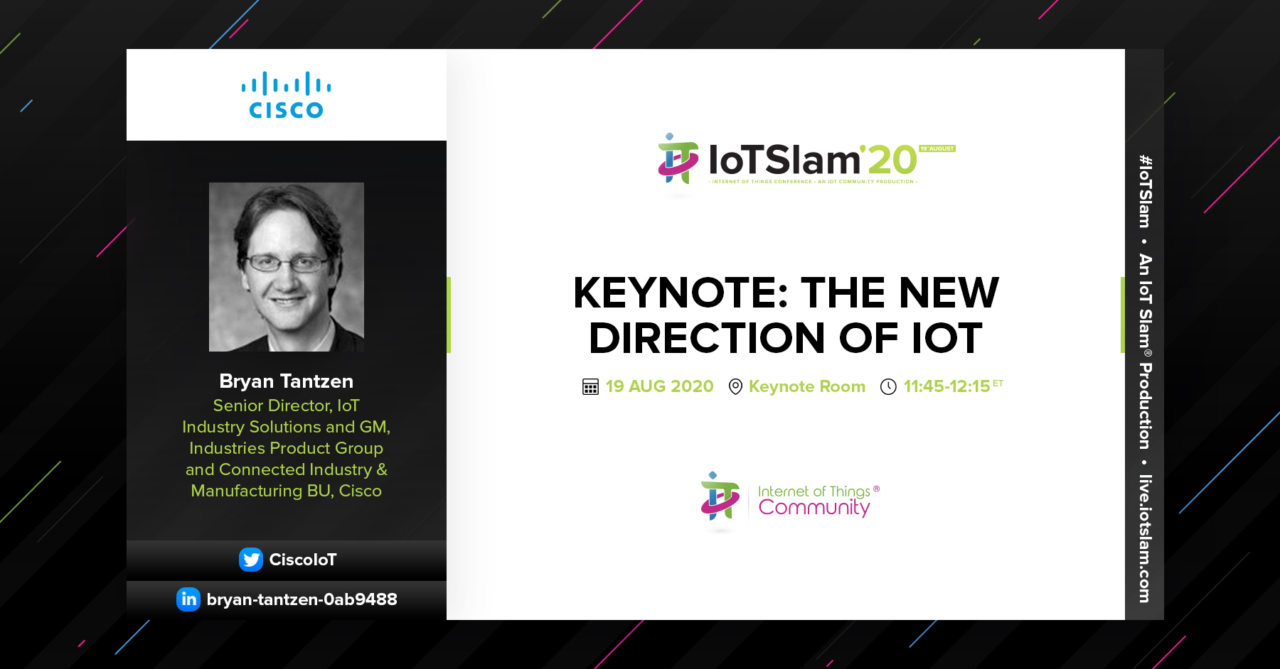 Keynote: The New Direction of IoT
